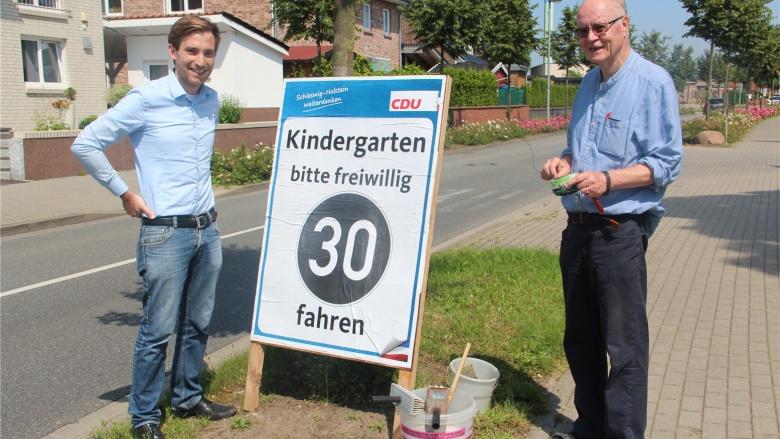 CDU Plakate